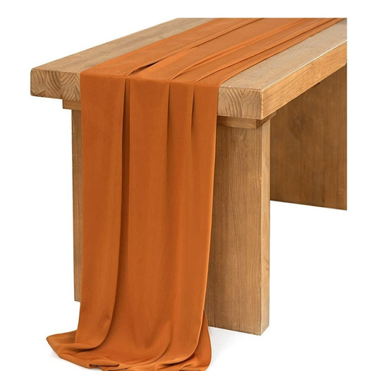 Table Scarf -Rust