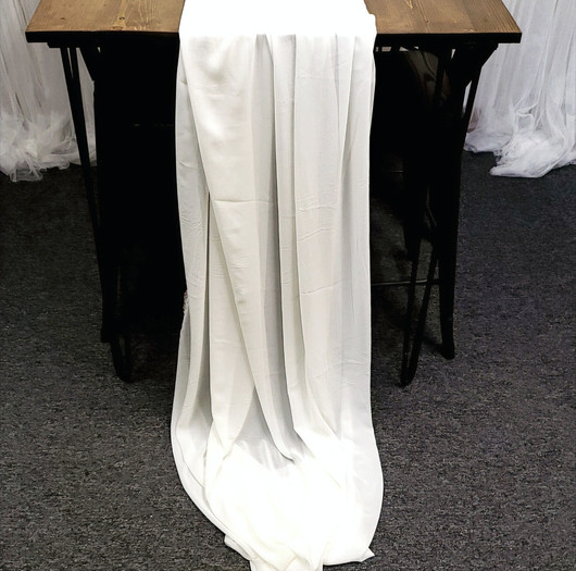 Table Scarf -Ivory