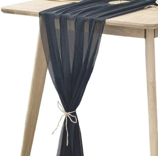Table Scarf -Black