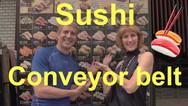 Sushi Conveyor belt Video