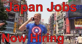 Jobs in Tokyo Japan