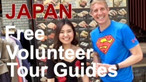 Japan Free Volunteer Tour Guides