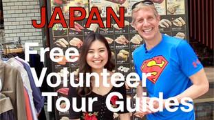 Japan Free Volunteer Tour Guides