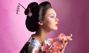 Portrait of a Japanese geisha woman_edit