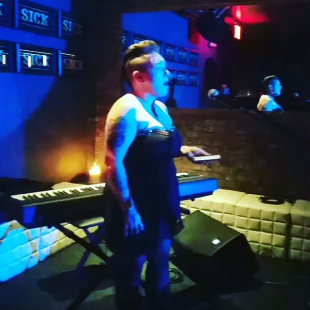 Our girl #effiepassero busting dat #opera at #noizsociety