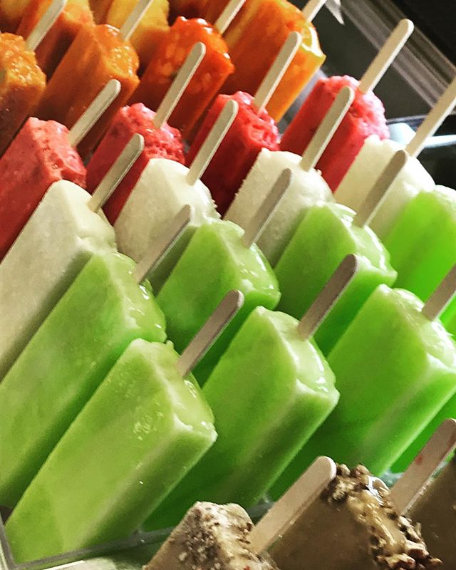 Try one of our many choices of popsicles
