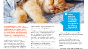 Co-Sleep With Your Pet? Dr. Baltzley says: