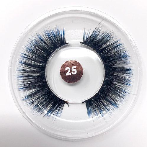 #25 CHROMA Lash Blue/Black
