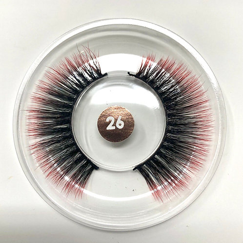 #26 CHROMA Lash Red/Black