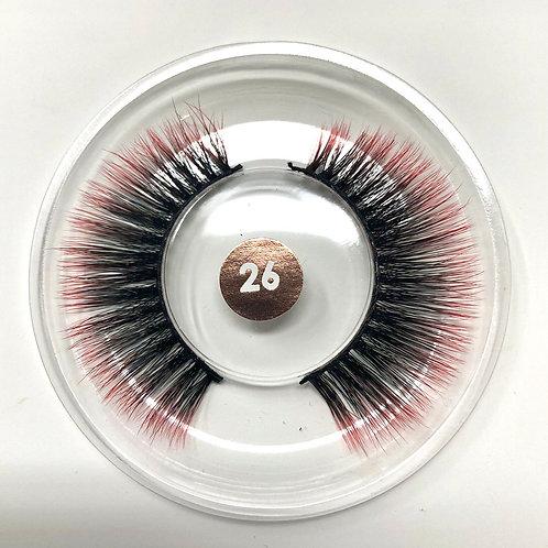 #26 CHROMA Lash Red/Black