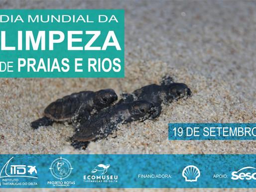 Dia Mundial da Limpeza de Praias e Rios