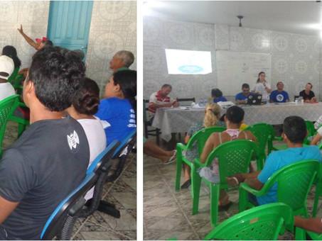Projeto Rotas da Conservação participou de reunião na colônia de Pescadores de Ilha Grande