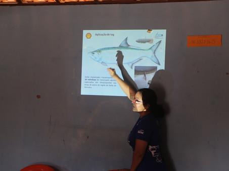 Projeto Rotas da Conservação visitou pescadores na Ilha das Canárias, MA