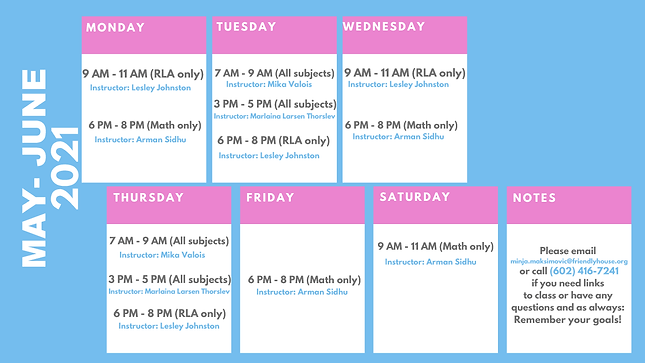 GED Class Schedule (May to June 2021).pn