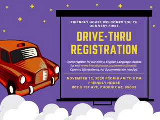 Drive-Thru Registration on November 12th