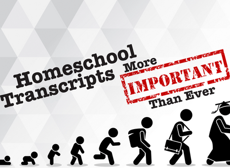Home School Transcripts 101