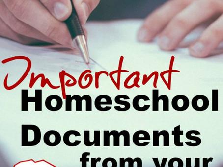 Home School Documents