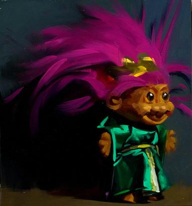 Troll in Green Robe