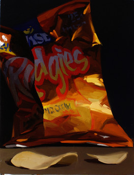 Ridgie's Potato Chips (sour cream)