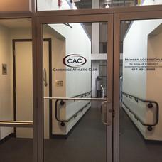 Entrance inside building