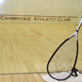 Glass Squash Court