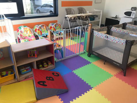 Newly renovated infant room