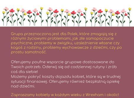 Peer Support Group for Polish women in Wrexham