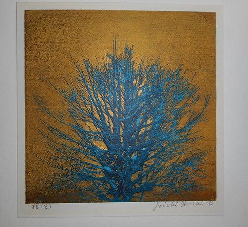 Print by Jyoichi Hoshi (1913-1979)