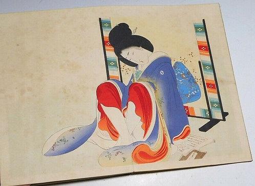 Print by Tomioka Eisen (1864-1905)