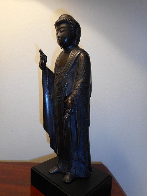 Bronze Amida-Nyorai Buddha