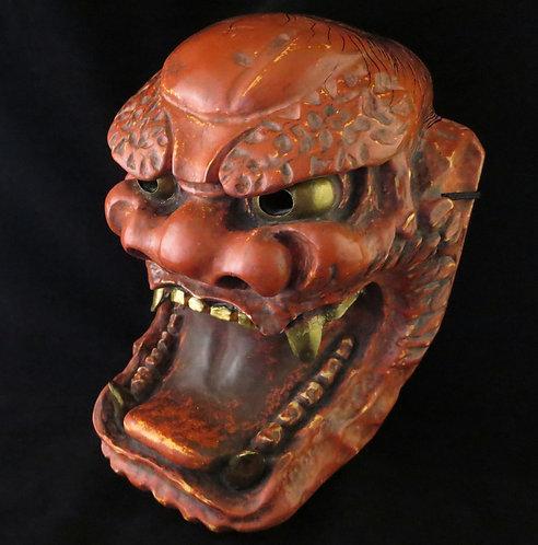 Noh mask of Inazuma