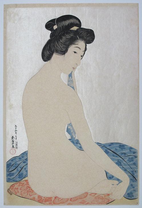Print by Goyo Hashiguchi (1880-1921)