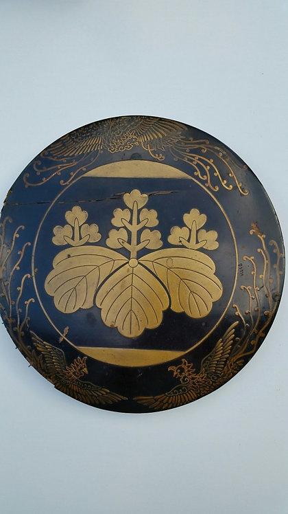 Large bronze mirror by Fujiwara Shigetsugu