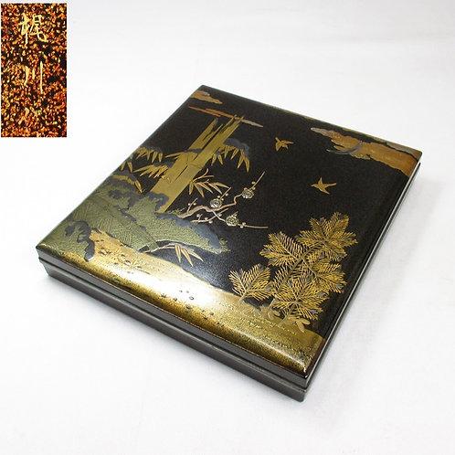 Finest lacquered Writing Box (Suzuri-Bako)