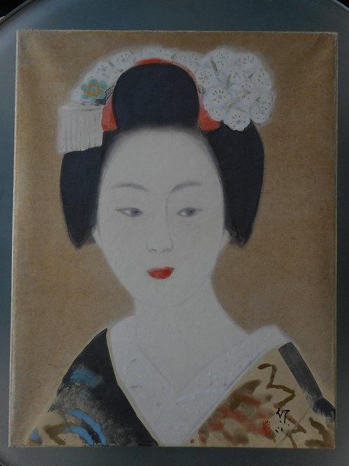 Painting by Terashima Shimei (1892-1975)