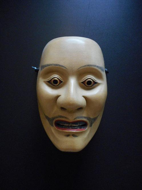 Noh mask of Mikazuki
