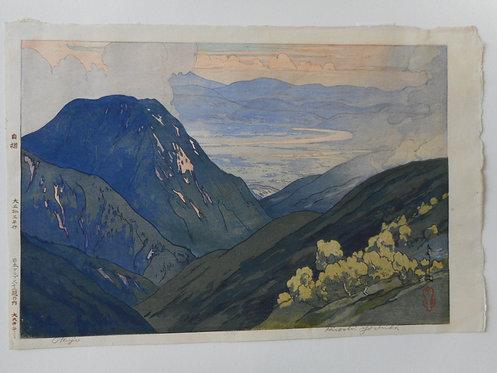 Print by Hiroshi Yoshida (1876-1950)