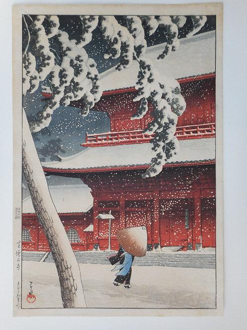 Print by Hasui (1883-1957)