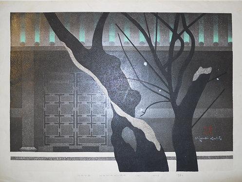 Print by Kiyoshi Saito (1907-1997)