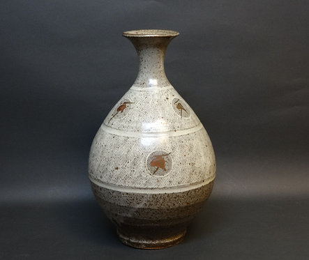 Pottery vase by Tatsuzo Shimaoka