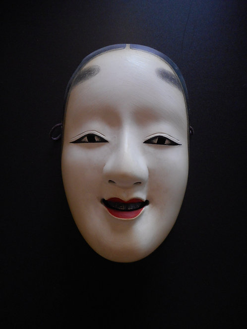 Noh mask of Ko-Omote (Young Woman)