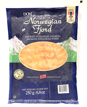250g Norwegian Smoked Salmon (Frozen)