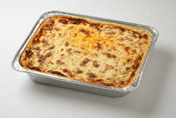 Homemade Cheese Lasagna (Fully Cooked, Frozen) 8-10 Servings