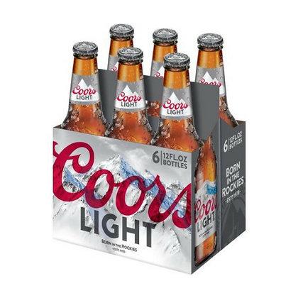6pk Coors Light