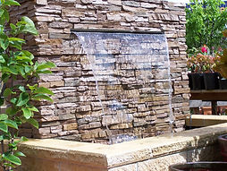 Water Feature Adbri Eldorado stone.