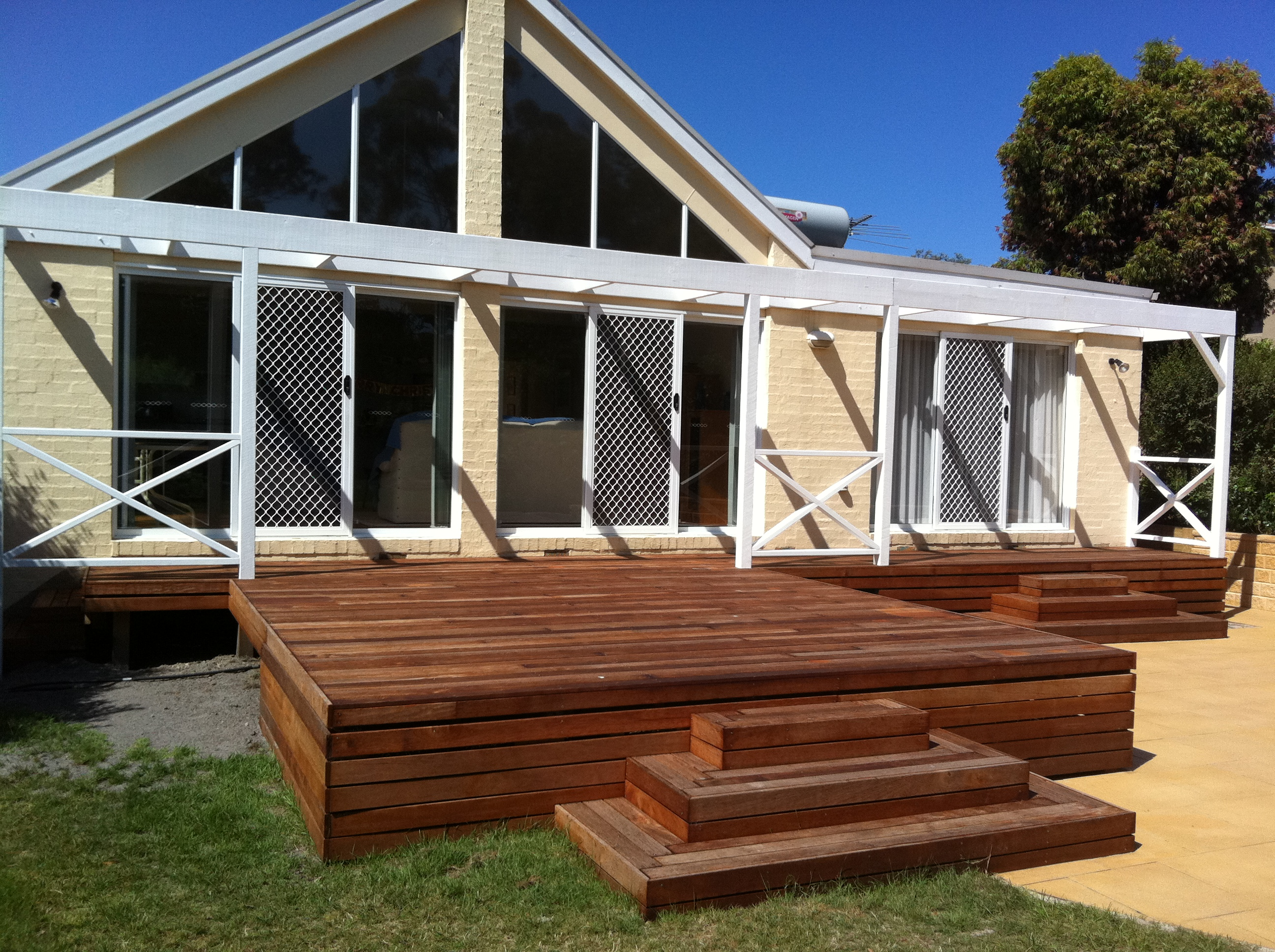 decking and veranda