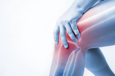 Canva - knee injury in humans .knee pain