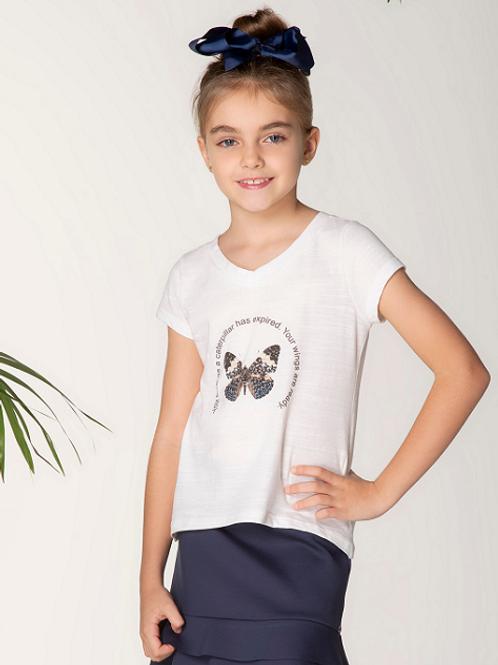 T-shirt Flame Borboleta Wings M/C