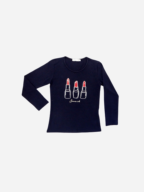 T-Shirt Cotton Lipstick