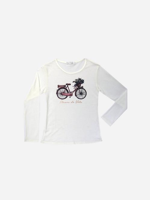 T-Shirt Fleurs Ml